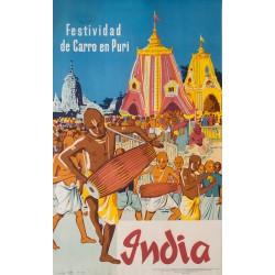 India. 1957.