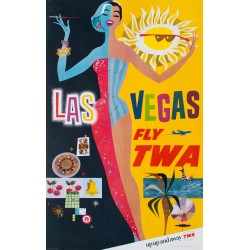Las Vegas TWA. David Klein.