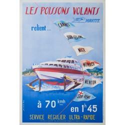 Les Poissons volants. Jean-Charles Roux. 1973.
