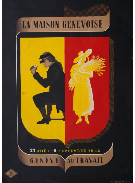 La maison genevoise andr simon 1942 posters we love for Andre maurois la maison