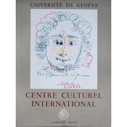 Université de Genève. Pablo Picasso. 1968.