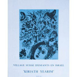 Kiriath Yearim. Marc Chagall. 1971.