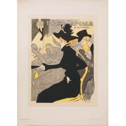 Le Divan japonais. Henri de Toulouse-Lautrec. 1895.