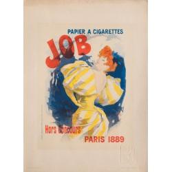 Papier à cigarettes Job. Jules Chéret. 1895.