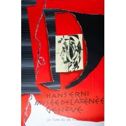 Exposition Musée de l'Athénée. Hans Erni. 1974.