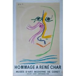 Hommage à René Char. Pablo PICASSO. 1969.