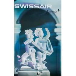 Swissair, Europe. Niklaus SCHWABE. 1961.