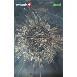 Swissair, Israel. Georg GERSTER. 1997.