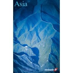 Swissair, Asia. Georg GERSTER. 1996.