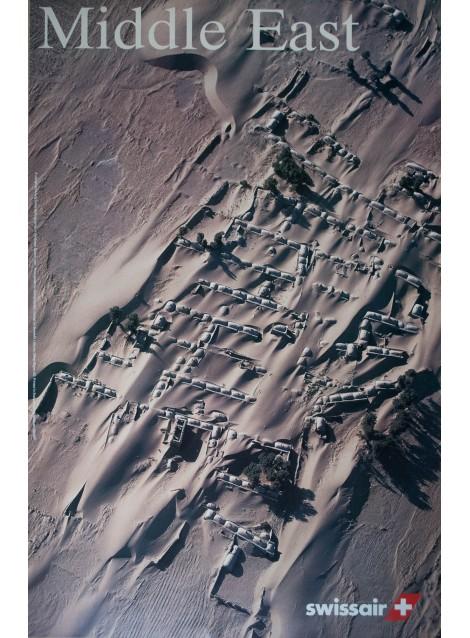 Swissair, Middle East, Iran. Georg GERSTER. 1996.