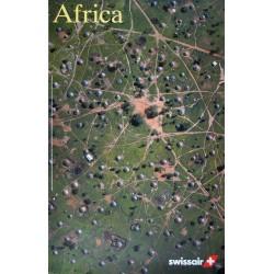 Swissair, Africa. Georg GERSTER. 1996.