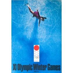 XI Olympic Winter Games Sapporo, Ice Skating. Yusaku KAMEKURA. 1972.