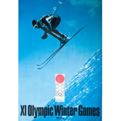 XI Olympic Winter Games Sapporo. Yusaku KAMEKURA. 1972.