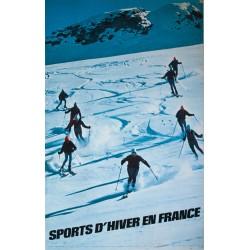 Sports d'hiver en France. LEFEBVRE. 1968.