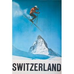Switzerland. Alfred PERREN-BARBERINI. Vers 1965.