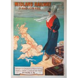 Midland Railway. Vers 1920.