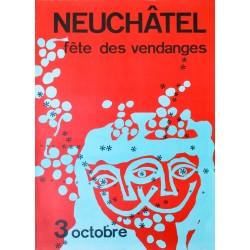 Fête des Vendanges, Neuchâtel. Riccardo Pagni. 1965.