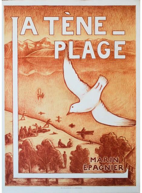 La Tène-Plage. Louis de Meuron. 1931.