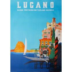 Lugano. Daniele Buzzi. 1952.