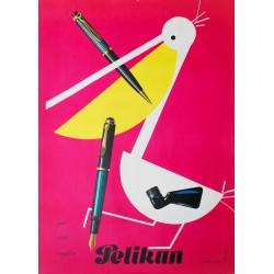 Pelikan. Herbert Leupin. 1952.