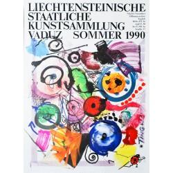 Kunstsammluzng Vaduz. Jean Tinguely. 1990.
