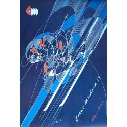 Hans Erni. Championnats du monde de ski, Crans-Montana. 1987