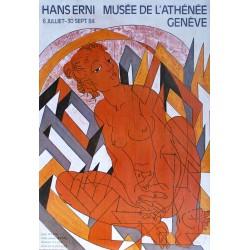 Hans Erni. Exposition Musée de l'Athénée, Genève. 1984.