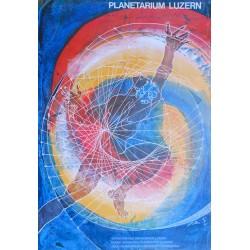 Hans Erni. Planetarium Luzern. 1968.