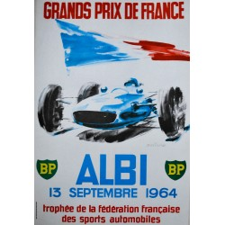 Michel Beligond. Grands Prix de France, Albi. 1964.