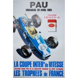 Coupe internationale de vitesse. Pau. 1969.