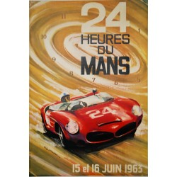 Guy Leignac. 24 Heures du Mans. 1963.