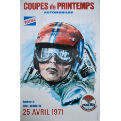 Coupes de printemps automobiles. 1971.