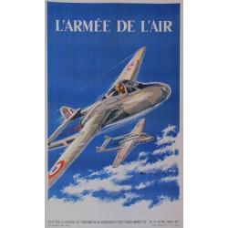 Paul Lengellé. L'armée de l'air. Vers 1950.