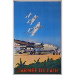 Paul Lengellé. L'armée de l'air. Vers 1953.