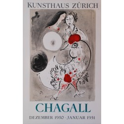 Exposition Kunsthaus Zürich. Marc Chagall. 1950.