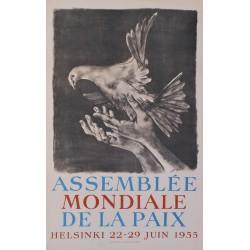 Hans Erni. Assemblée mondiale de la paix. 1955.