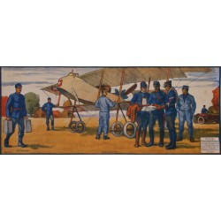 Jules Courvoisier. Mobilisation 1914. Aviation. 1916.
