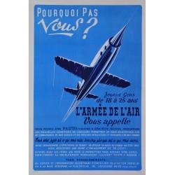 L'Armée de l'air vous appelle. Vers 1950.