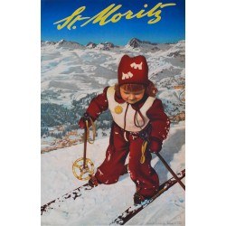 Andreas Pedrett, St. Moritz. 1950.