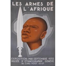 Philippe de Chastonay. Les armes de l'Afrique. 1952.