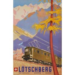 Eric Hermès. Lötschberg. 1949.