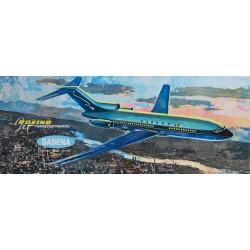 Sabena. Boeing Jet Transcontinental. Vers 1965.