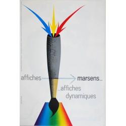 Erik Nitsche. Affiches Marsens. 1958.