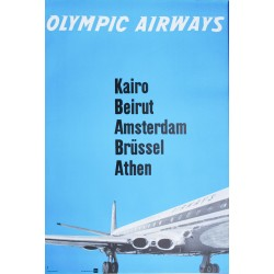 Olympic Airways. 1961.