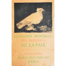 Pablo Picasso. Congrès mondial des partisans de la paix. 1949.