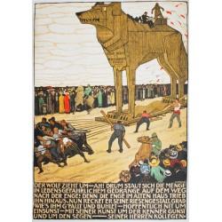 Burkhard Mangold. Der Wolf zieht um. 1911.