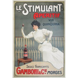 Le Stimulant, Morges. Vers 1905.