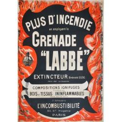 Grenade Labbé. Vers 1890.