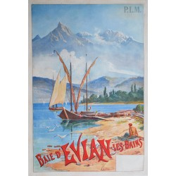 EVIAN-LES-BAINS, TANCONVILLE, 1895