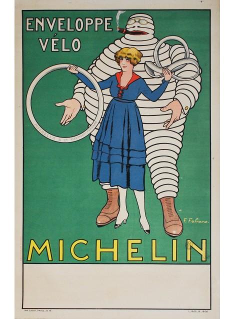 Michelin. Fabien Fabiano. 1917.